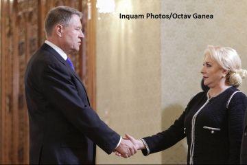 Președintele Klaus Iohannis s-a întâlnit cu Viorica Dăncilă, la Palatul Cotroceni. Ce au discutat cei doi