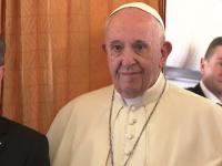 Interviu din avion cu Papa Francisc:  N-am văzut niciodată ceva mai minunat
