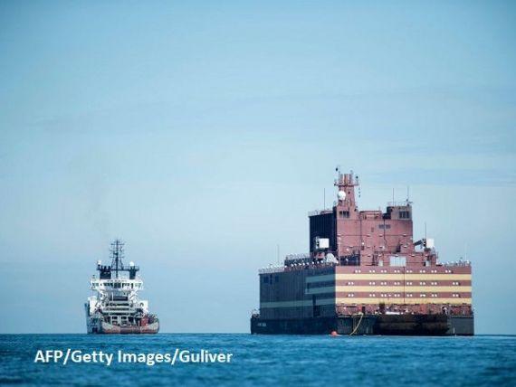 Cernobîlul plutitor  pleacă în misiune în Oceanul Arctic. Prima centrală nucleară plutitoare din lume începe un voiaj de 5.000 km