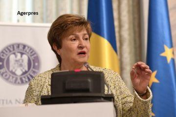 Șefa FMI: Recesiunea provocată de coronavirus este mai gravă decât criza din 2008. Am văzut cum economia mondială s-a oprit