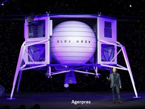 Cel mai bogat om din lume vinde acțiuni la Amazon pentru a-și finanța compania de navete spațiale Blue Origin