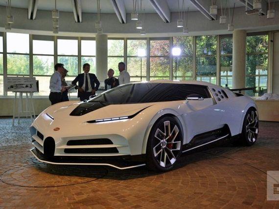 Bugatti a prezentat cea mai puternică supermaşină a sa, de 10 milioane de dolari