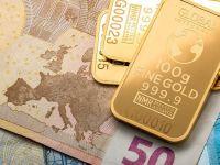 Euro a scăzut spre 4,74 lei. Preţul aurului, aproape de valoarea record
