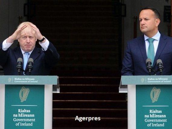 Dublinul acuză Londra că nu a prezentat nicio propunere  realistă , pentru a ieși din impasul Brexitului. Johnson promite că va  produce  idei