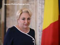 Președintele PSD Viorica Dăncilă și-a depus candidatura pentru alegerile prezidențiale