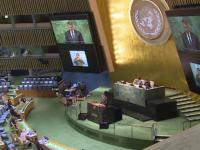 Klaus Iohannis, discurs în Adunarea Generală a ONU