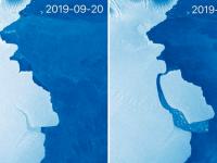 Un aisberg de 315 miliarde de tone s-a desprins din Antarctica. Ce spun cercetătorii