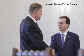 Klaus Iohannis îl propune din nou pe Ludovic Orban pentru funcţia de premier:  Alegerile anticipate sunt prima mea opţiune