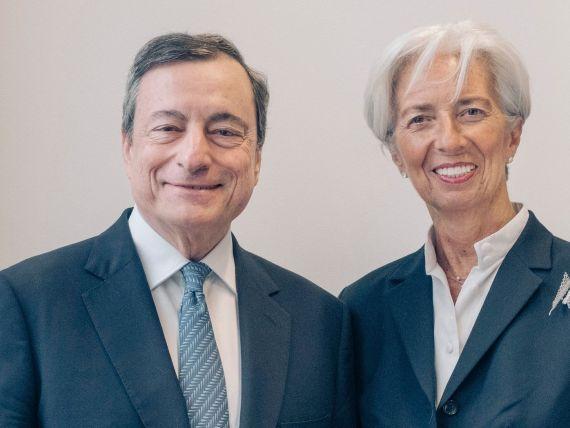 Fosta șefă a FMI, Christine Lagarde, a preluat oficial președinția Băncii Centrale Europene de la Mario Draghi