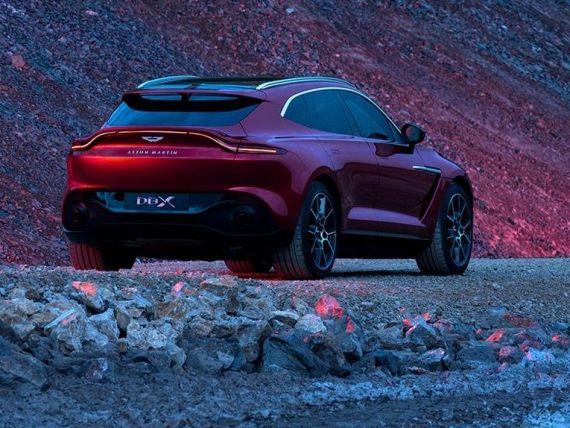 Aston Martin lansează în România primul SUV din istoria mărcii. Ce preț și ce dotări are modelul DBX