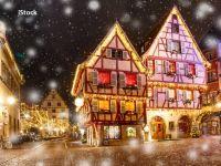 Colmar, orașul francez care se transformă într-o poveste, de Crăciun. Oamenii, amendați dacă nu își decorează casele
