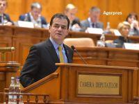 Guvernul și-a asumat răspunderea în Parlament pe bugetul de stat pentru 2020 și bugetul asigurărilor sociale. Orban: Am preluat foarte multe amendamente de la parlamentari
