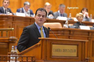 Parlamentul a votat Guvernul Orban