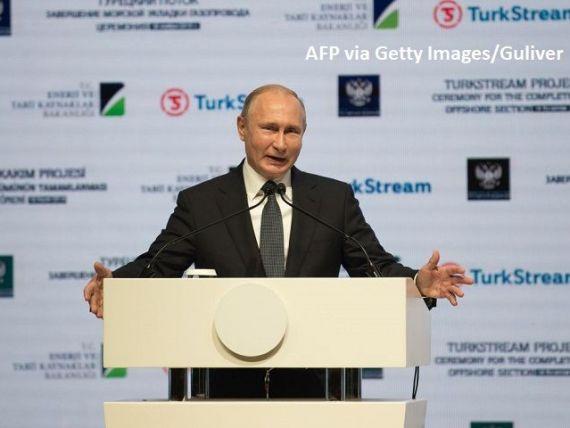 Moscova împânzește Europa cu gazoducte. Încă o conductă care aduce gazul rusesc pe continent, prin Marea Neagră, dată în folosință