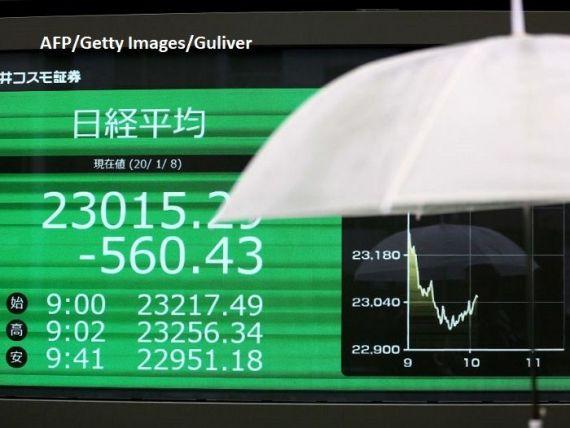 Bursele asiatice și dolarul, în picaj după atacul Iranului asupra bazelor SUA din Irak. Prețul petrolului explodează