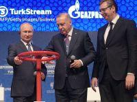 Încă un robinet de gaze rusești în Europa. Recep Erdogan și Vladimir Putin au inaugurat, în mod oficial, gazoductul TurkStream