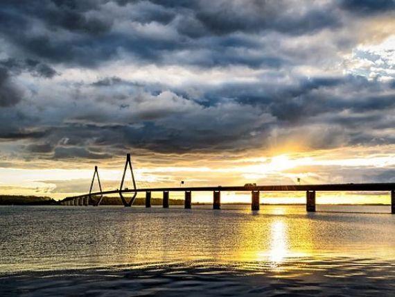 Danemarca leagă Copenhaga de al doilea oraş ca mărime al ţării printr-un pod de 20 mld. dolari, pentru a limita traficul aerian