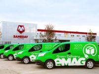 Retailerul online eMAG lansează livrarea cu automobile 100% electrice, o premieră pe piața din România