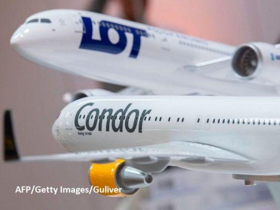 Polonezii de la LOT preiau operatorul german Condor și creează un gigant care răstoarnă piața transportului aerian european