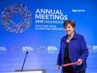 Bulgaria are șanse mari să intre în zona euro în 2023, spune șefa FMI, bulgăroaica Kristalina Georgieva