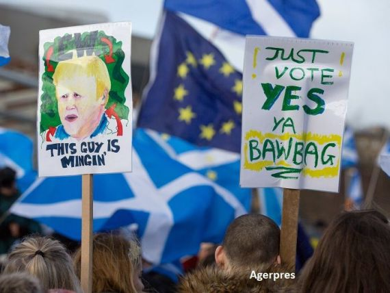 Scoțienii, tot mai hotărâți să-și câștige independența, după Brexit. Cifrele care transmit unde de șoc la Londra