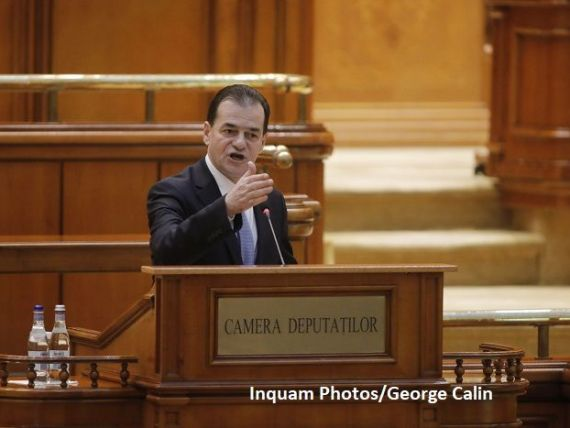 Guvernul a fost demis, după adoptarea moţiunii de cenzură. Orban: Parlamentul este dominat de   forţe retrograde