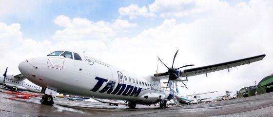 Avioane noi la Tarom. Nouă aeronave ATR, pentru distanțe scurte, intră în flota operatorului de stat