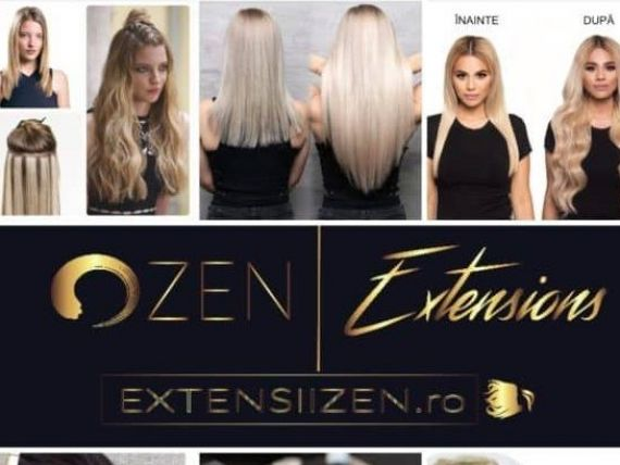 (P) ExtensiiZen.ro lider în extensii de păr natural premium