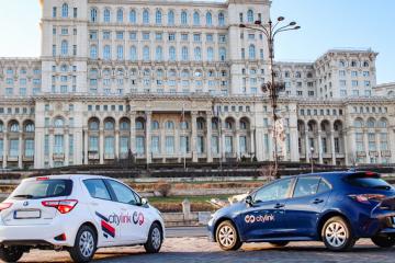 Citylink, platformă dezvoltată de antreprenori locali, lansează servicii de car-sharing cu o flotă de 150 de automobile hibride