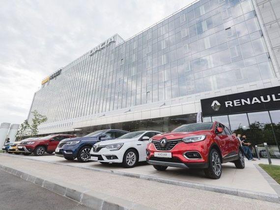 Afacerile Renault au scăzut cu 19% în primul trimestru, pe fondul pandemiei cu coronavirus. Înmatriculările Dacia s-au prăbuşit cu peste 40%