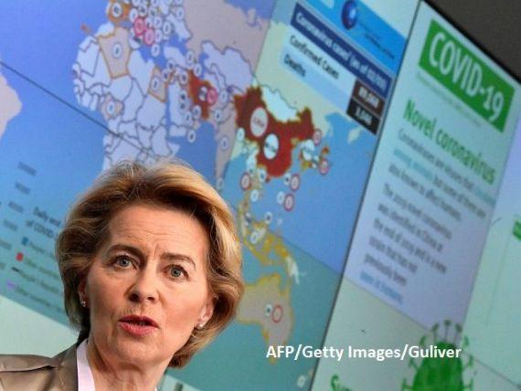 Frontierele externe ale UE ar putea rămâne închise și după Paşte, anunţă Ursula von der Leyen