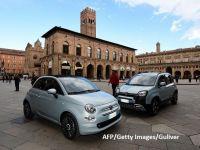 Fiat 500, mașina simbol a italienilor, se pregătește pentru viitor. Fiat Chrysler a prezentat versiunea electrică a modelului lansat în anii '50