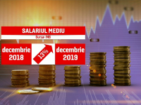Bugetarii, avantajați de creșterile de salarii din 2019. Cât se câştigă, în medie, în instituțiile statului