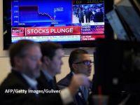 Se anunță o nouă zi neagră pentru burse. Luni, indicii europeni și Wall Street-ul au avut cea mai proastă zi de la criza financiară din 2008-2009