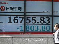 A treia zi consecutivă de prăbușire pe piețele financiare. Bursa de la Tokyo a avut cea mai proastă şedinţă de după catastrofa nucleară de la Fukushima