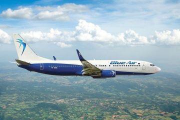 Blue Air taie prețurile biletelor cu 30%, pentru toate destinațiile
