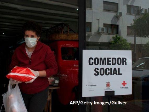 Banca Spaniei previzionează o prăbușire economică de peste 12% și un șomaj de 21,7%, în 2020, din cauza pandemiei