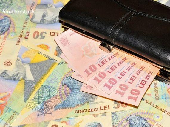 Leul se apreciază, marți, față de euro și dolarul american