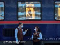 """Reportaj AFP: Trenul de noapte, legătura vitală dintre îngrijitoarele românce şi pacienţii austrieci. """"Este ca şi cum ne revedem familia"""""""