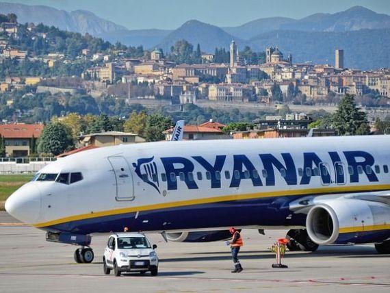 Ryanair vinde un milion de bilete de avion cu 5 euro, pentru toate destinațiile spre care zboară. Până când este valabilă promoția