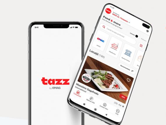 Tazz by eMAG preia o parte din echipa Uber Eats, inclusiv directorul de vânzări. Platforma vrea să atragă încă 300 de restaurante, după ce comenzile au crescut de 4 ori în ultima lună