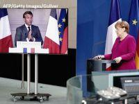 """Franța și Germania propun un plan de 500 mld. euro pentru relansarea Europei, după pandemie. Macron: """"Nu vor fi împrumuturi, ci alocări directe"""""""