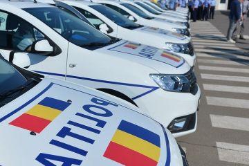 Poliţia Română cumpără peste 6.700 de maşini de la Dacia Renault, contract în valoare de peste 483 de milioane de lei