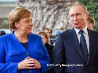 """Un """"război"""" fără sfârșit. Germania condamnă intenţia SUA de a aplica noi sancţiuni proiectului Nord Stream 2, care aduce mai multe gaze rusești în Europa"""