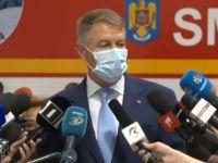 Iohannis: Nu dorim să reimpunem restricții, dar sunt îngrijorat de numărul mare de cazuri