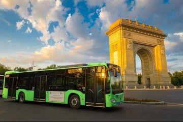 Cum arată autobuzele hibrid Mercedes Citaro, care au început să circule în Bucureşti