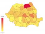 Coronavirus România, topul județelor. Unde s-a depășit pragul de 1.000 de cazuri de COVID-19