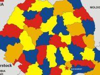 Coronavirus România. Bucureștiul a înregistrat peste 100 de noi îmbolnăviri și depășește 4.000. Județele cu peste 1.000 de cazuri