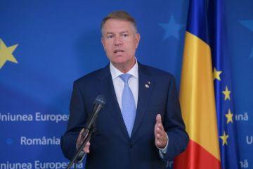 Ce va face România cu cele 80 mld. euro de la UE. Iohannis:  Am stabilit domeniile prioritare pe care le vom finanţa cu aceşti bani, prioritatea zero este infrastructura