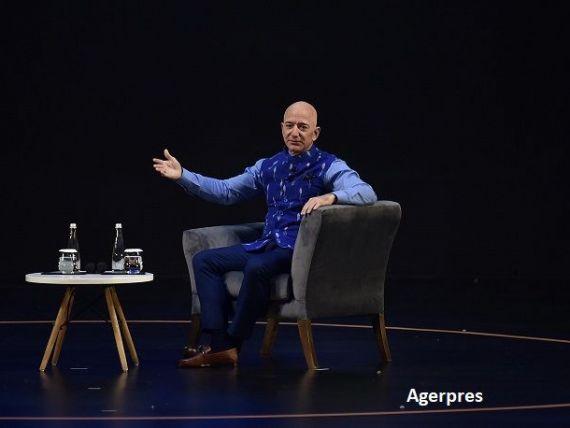 Averea lui Jeff Bezos, cel mai bogat om din lume, a crescut cu 13 mld. dolari, cel mai mare avans într-o singură zi